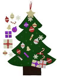 3ft Christmas Tree by Amazon Com Felt Christmas Tree Glitter Edition 3ft Wall Or