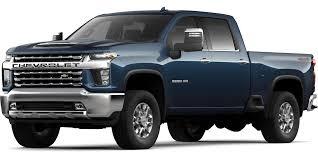 100 Chevy 2500 Truck 2020 Chevrolet Silverado HD Color Options Carl Black Kennesaw