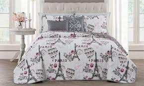 Bed Set Paris Themed Bedding Sets