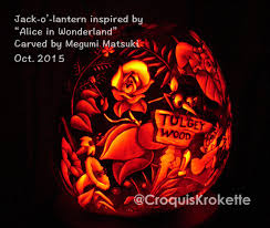 Alice In Wonderland Pumpkin Carving Patterns by Alice150 Hashtag On Twitter