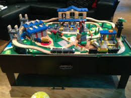 Thomas The Train Tidmouth Shed Layout by Imaginarium City Central Train Table Best Price And Reviews