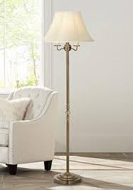 Overarching Floor Lamp Antique Brass by Floor Lamps Traditional To Contemporary Lamps Lamps Plus