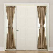 Front Door Sidelight Curtain Panels by Sidelight Curtains Ebay