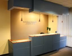 Reception Area W Custom Desk Signage