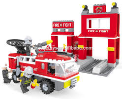 Auisini Eco-friendly Funny Fire Truck Fireman Kids Brick Toys ... Fire Truck Kids Outdoor Playhouse Loveoutdoor Toys William Watermore The Teaser Real City Heroes Rch 2 Seater Engine Ride On Shoots Water Wsiren Light 9 Fantastic Toy Trucks For Junior Firefighters And Flaming Fun Amazoncom Battery Operated Firetruck Games Alluring With Hose Feature Rc 24g Radio Control Cstruction Cement Mixer Educational Boys Spray Gun Toddler Bed Nolan Hot Who Dream Of Becoming Imagine 2018 Robocar Poli Deformation Car 4 Styles Police