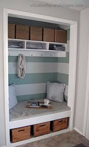 Mudroom Idea But Id Raise The Bench And Have A Couple Shelves For