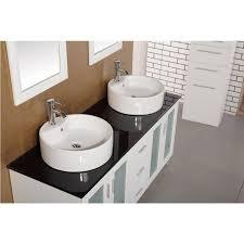 60 Inch Bathroom Vanity Single Sink Top by Design Element Dec066d W Malibu 60 Inch Single Sink Modern