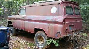 100 Panel Trucks For Sale 1965 4 Wheel Drive Panel Truck With Big Block Motor Project