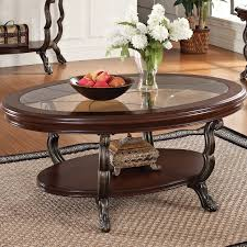 Traditional Dark Brown Norcastle Sofa Table by Coffee Table Fabulous End Table Sets Round Coffee Table With