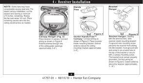Hunter Ceiling Fan Manual Pdf by Tx30 Remote Control For Ceiling Fan User Manual Owners Manual