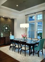 Dining Room Accents Elegant Notice The Wall And Ceiling Painted A Contrasting Color Offer Impact That