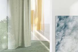 gardinen trends 2021 aktuelle vorhänge schöner wohnen