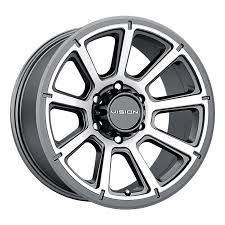100 Discount Truck Wheels Vision Turbine Machined MultiSpoke