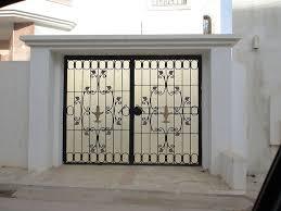 cuisine porte d entrã e en fer forgã porte en fer porte en acier