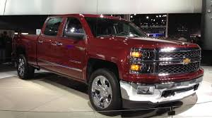 100 Chevy Trucks 2014 Silverado GMC Sierra Pickups Revealed Ahead Of Detroit