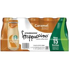 Starbucks Frappuccino Chilled Caramel Coffee Drink