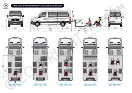 Mercedes Sprinter MWB Floor Plan