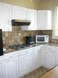 repeindre un meuble de cuisine meubles cuisine en bois caen