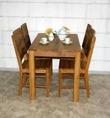 massivholz esstisch 110x70cm wildeiche geölt küchen tisch
