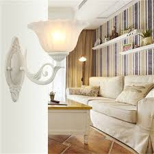 cheap indoor wall lights and modern small white base