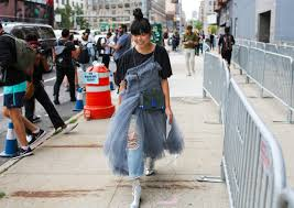 wearing dresses over jeans is officially a thing again u2013 eat