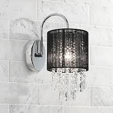 black bathroom lighting ls plus
