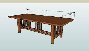 dining room table woodworking plans plans pdf download dining