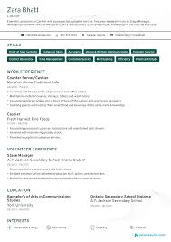 Cashier Resume [2019] - Guide & Examples 10 Coolest Resume Samples By People Who Got Hired In 2018 Accouant Sample And Tips Genius Templates Wordpad Format Example Resume Mistakes To Avoid Enhancv Entrylevel Complete Guide 20 Examples 7 Food Beverage Attendant 2019 Word For Your Job Application Cover Letter Counselor With No Experience Awesome At Google Adidas Cstruction Worker Writing Business Plan Paper Floss Papers Real Estate