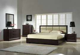 J&M Furniture Platform Bed Contemporary Bed Modern Bed