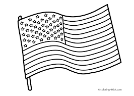 Best Usa Flag Coloring