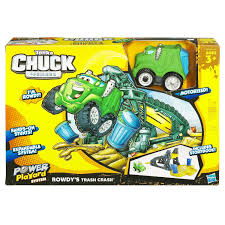 Tonka Chuck & Friends Mini Stunt Set - Rowdy The Garbage Truck By ... Hasbro Tonka Chuck Friends Racin The Dump Truck By 2 Tonka Maisto Mini Metal Diecast Chuck Friends Red Train Cheap And Find Deals On Playdoh Diggin Rigs N Grding Gravel Yard Classic Vehicle Rowdy The Garbage Truck And Rumblin Talking Dump Similar Items Wheel Pals Lot Of 3 Sheriff Car Fire Adventures Of Games Richfailoobmennik Interactive Playskool Windup Boomer Trucks Engine Friends With