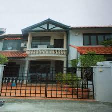 100 Terrace House In Singapore INTERMEDIATE 2STORY TERRACE HOUSE FOR SALE
