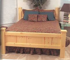gun cabnets in headboard of bed pine bed wood furniture plans