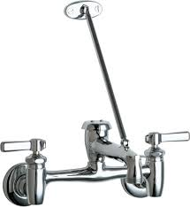 Mop Sink Faucet Specs by 897 Cp Manual Faucets Chicago Faucets
