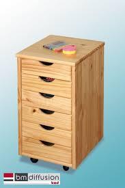 bureau caisson nils caisson de rangement pour bureau sur roulettes 6 tiroirs