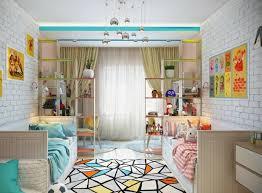 chambre de enfant aménagement chambre deux enfants 25 idées astucieuses