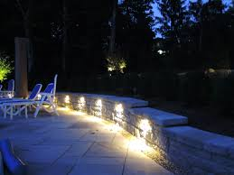 outdoor lighting in bergen county garden state irrigation and