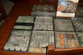 Dungeons And Dragons Tiles Sets by Dastardly Designed Games Review Of The Wotc Dungeons And Dragons