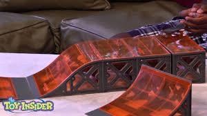 Tony Hawk Tech Deck Half Pipe by Hexbug Tony Hawk Circuit Boards Toy Insider Kid Review Youtube