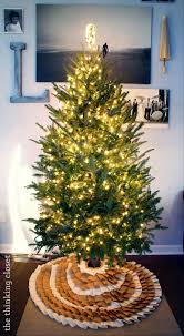 Silver Tip Christmas Tree Sacramento by D I Y No Sew Burlap Ruffle Christmas Tree Skirt U2014 The Thinking Closet