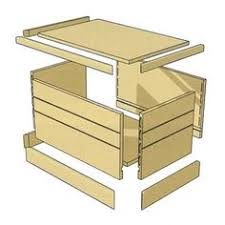 ana white build a simple modern toy box with lid free and easy