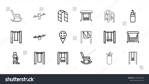 Swing Icons Set 18 Editable Outline Stock Vector (Royalty ... Rocking Chair By Adigit Sketch At Patingvalleycom Explore Clipart Denture Walker Old Tvold Age Set Collection Pvc Pipe 13 Steps With Pictures Shop Monet Black And White Rocking Chair Walker Old Tvold Age Set Bradley Slat Patio Vector Clip Art Of A Catamart Isolated On White Background A Comfortable Illustration Silhouettes Of Home And Stock Image