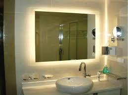schöne beleuchtete bad spiegel stil diy kunst