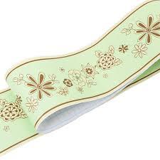 uoisaiko 3d grün tapete bordüre küche wandbordüre