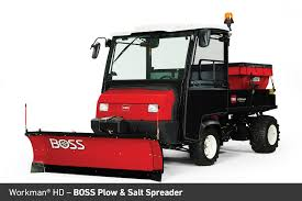 Boss Snowplow And Salt Spreader For Toro Workman HD - Kenney Machinery Snow Plows Salt Spreaders Dump Body Lighting Giletta Uniqa Bucher Municipal Saltdogg Spreader Stands Medium Duty Work Truck Info Buyers 1400465sse 30 Cubic Yard Electric Powered Gps Devices Added To The Arsenal Of Snowfighting Equipment Stock Photos Images Alamy Tgs03 Auger Driven Tailgate Black 2006 Gmc 2500 With Salt Spreader And Western Plow Plowsite Snowex Sp1075x1 Buckeye Power Sales Bobcat Utv Green Industry Pros Fisher Low Profile Fisher Eeering