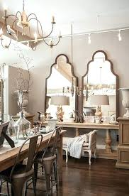 Mirror In Dining Room Double Table