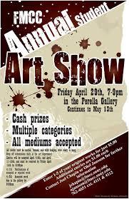 FMCC Art Show Poster Design By Blacke Horse
