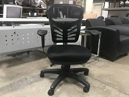 Alera Mesh Office Chairs by Alera Elusion Series Mesh Mid Back Multifunction Chair Black