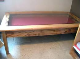 Build Large Coffee Table coffee table display case u2013 thelt co