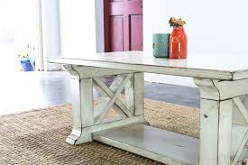 Design Of Farmhouse Coffee Table With Old Farm Rustic Style Living Room Furniture
